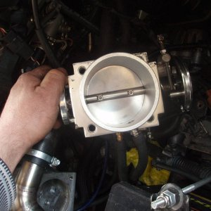 Goat Intercooled TVS 2ZZ-GE custom 80mm throttle body