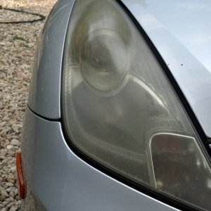 foggy headlight
