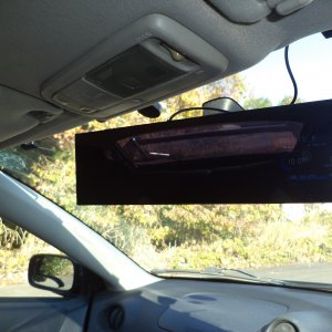 Rear View Mirror with Comtech system