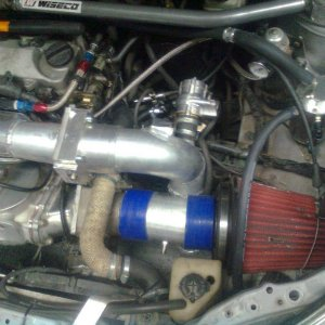 Dual throttle supercharger setup #2