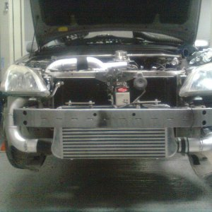 A/A intercooler setup